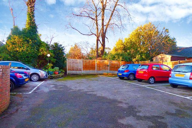 Parking of Chestnut Court, 45 Shaftesbury Avenue, Southampton SO17