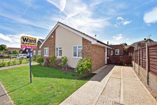 Thumbnail Detached bungalow for sale in Grasmere Road, Whitstable, Kent