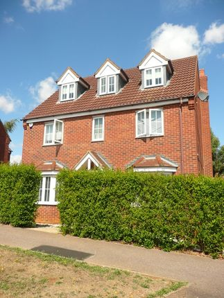 Thumbnail Detached house to rent in Cooper Drive, Wellingborough
