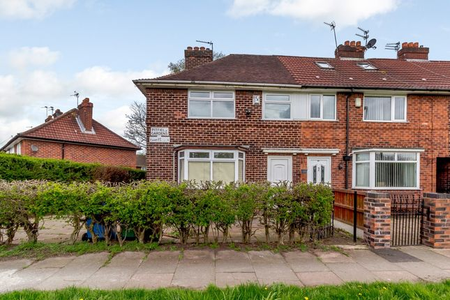 Thumbnail End terrace house for sale in Pitfield Gardens, Manchester, Greater Manchester