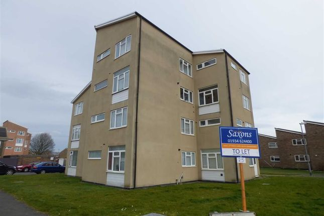 Thumbnail Flat to rent in Dartmouth Close, Worle, Weston-Super-Mare