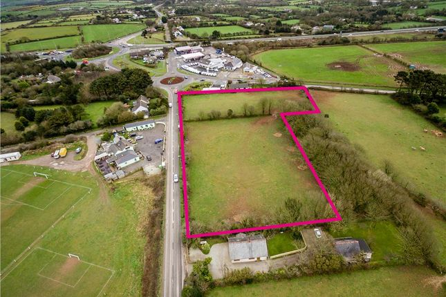 Thumbnail Land for sale in Land At Chiverton Cross, Truro, Cornwall