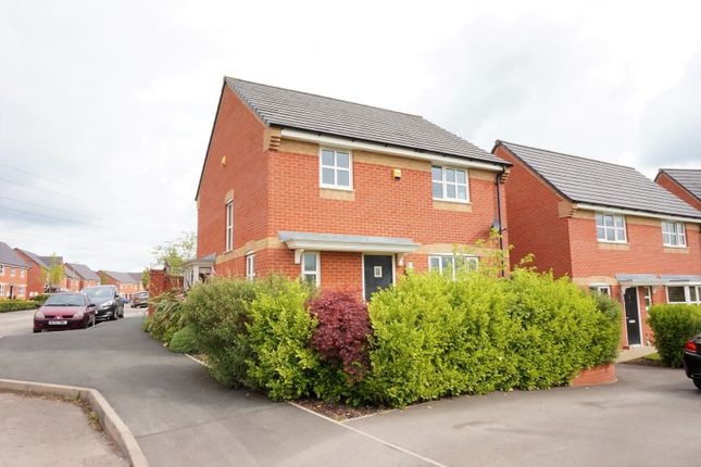 Thumbnail Detached house for sale in Essington Way, Brindley Villiage, Stoke-On-Trent
