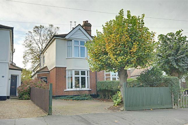 Thumbnail Semi-detached house for sale in Sheering Mill Lane, Sawbridgeworth, Herts