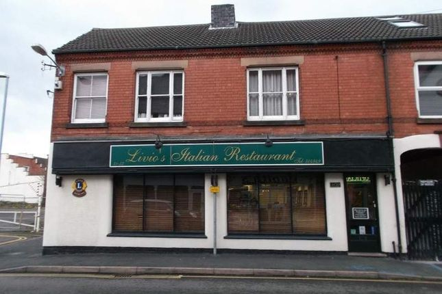 Thumbnail Restaurant/cafe for sale in 31-33 Hall Croft, Leicester