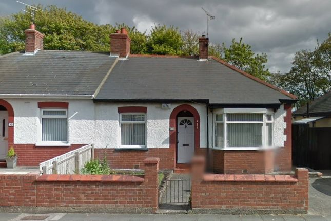 Thumbnail Bungalow to rent in Queen Alexandra Road West, North Shields