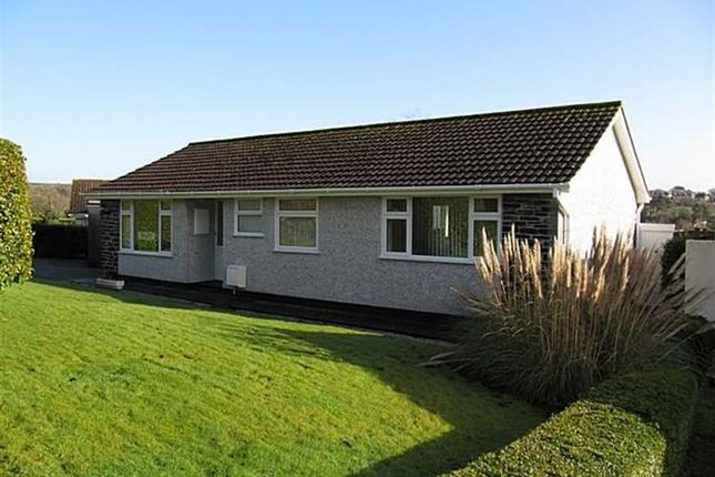 Thumbnail Bungalow to rent in Higher Trehaverne, Truro