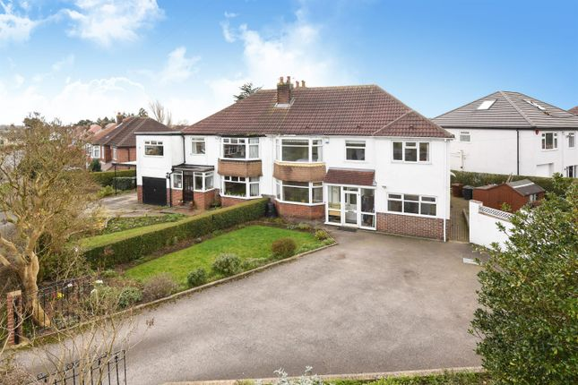 5 bed semi-detached house for sale in Mount Drive, Alwoodley, Leeds