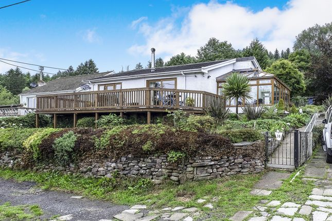 Thumbnail Detached bungalow for sale in Gelliceibryn, Glynneath, Neath