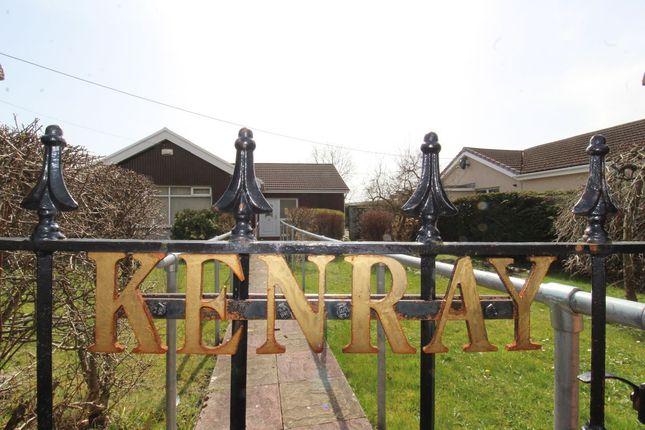 Thumbnail Bungalow for sale in Kenray, St. Lukes Road, Dukestown, Tredegar