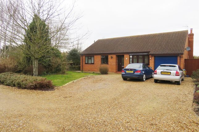 Thumbnail Detached bungalow for sale in Eastgate Lane, Terrington St. Clement, King's Lynn