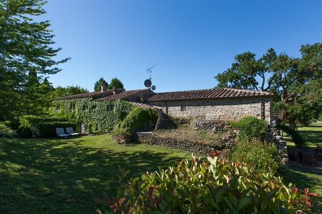 Rear Garden of Casa Molino, Anghiari, Tuscany