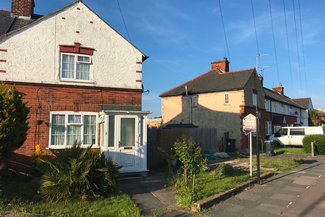 Thumbnail End terrace house for sale in Central Avenue, Enfield