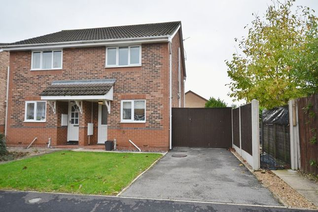 Thumbnail Semi-detached house to rent in Sorrel Way, Scunthorpe