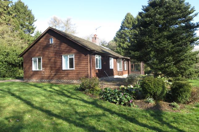 Thumbnail Detached bungalow for sale in Acton, Newcastle, Staffordshire