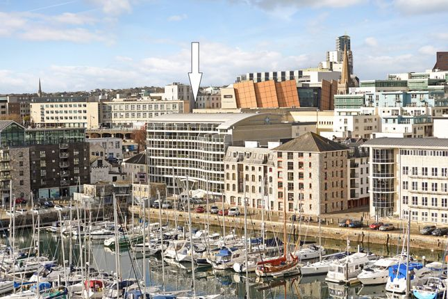 Thumbnail Flat for sale in Discovery Wharf, Sutton Harbour, Plymouth