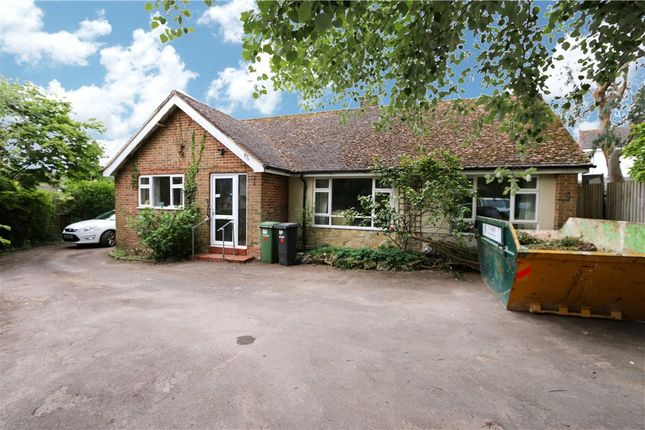 Thumbnail Detached bungalow for sale in Hursley Road, Chandler's Ford, Eastleigh, Hampshire