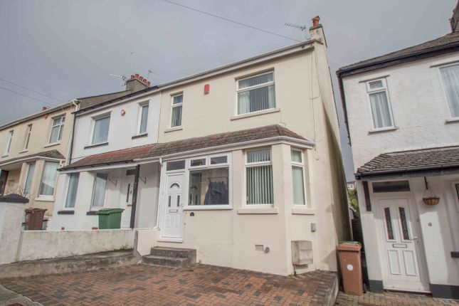 Thumbnail End terrace house for sale in Oakcroft Road, Beacon Park, Plymouth