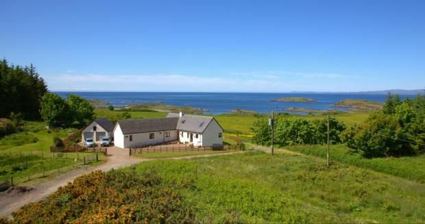 Thumbnail Detached house for sale in Springbank, Isle Of Gigha, Argyll And Bute