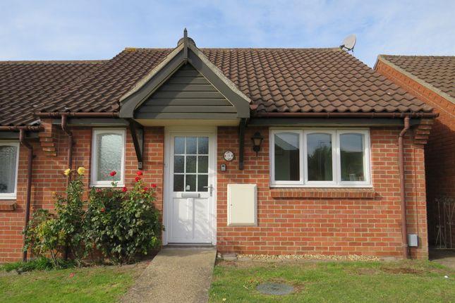 Thumbnail Terraced bungalow for sale in Bentley Way, Weston Road, Norwich