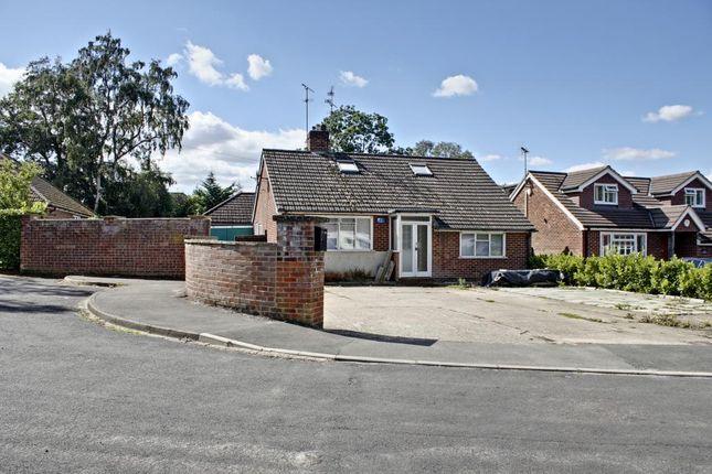 Thumbnail Detached bungalow for sale in Andrews Close, Church Crookham, Fleet