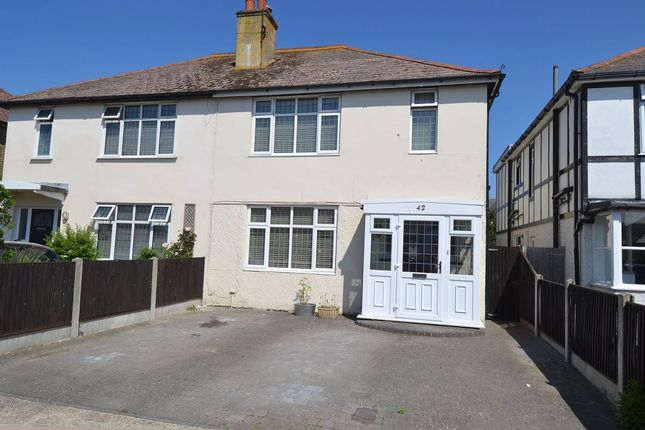 3 bed semi-detached house for sale in Ellis Road, Tankerton, Whitstable CT5