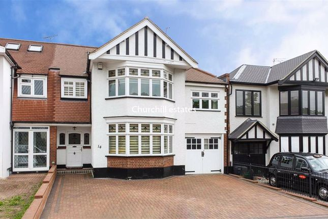 Thumbnail Terraced house for sale in High View Road, London
