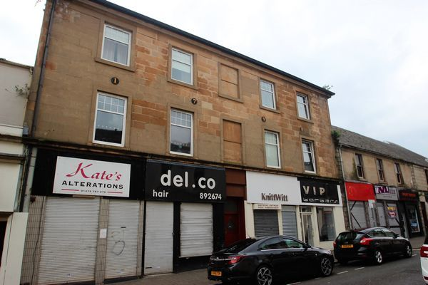 Thumbnail Block of flats for sale in Nicolson Street, Greenock