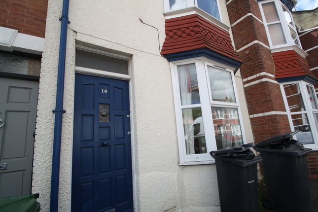 Thumbnail Terraced house to rent in Kimberley Road, Exeter