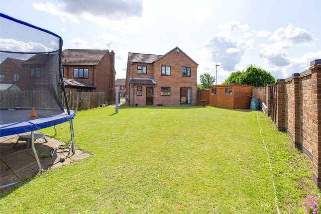 Thumbnail 4 bed detached house for sale in Plumpton Gardens, Bessacarr, Doncaster