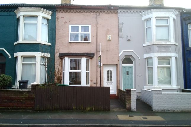 Thumbnail Terraced house to rent in Gonville Road, Bootle