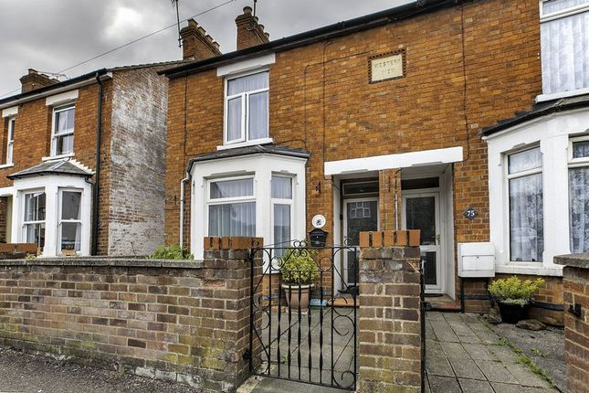 Thumbnail Terraced house to rent in Western Road, Fenny Startford, Milton Keynes