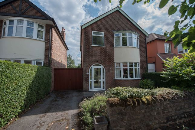 Thumbnail Detached house for sale in Fisher Avenue, Woodthorpe, Nottingham