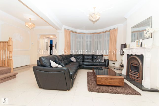 Thumbnail Semi-detached house for sale in Hadley Road, Enfield