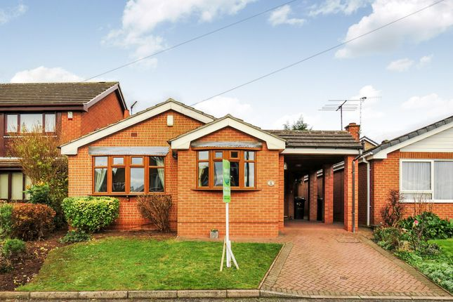 Thumbnail Detached bungalow for sale in Lyle Close, Kimberley, Nottingham