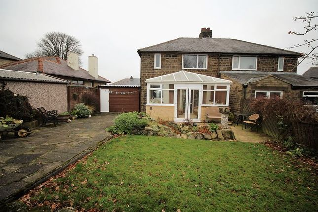 Thumbnail Semi-detached house for sale in Golf Crescent, Highroad Well, Halifax