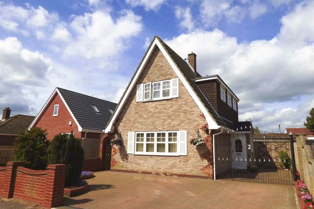 Thumbnail Detached house for sale in Chestnut Avenue, Bradwell, Great Yarmouth