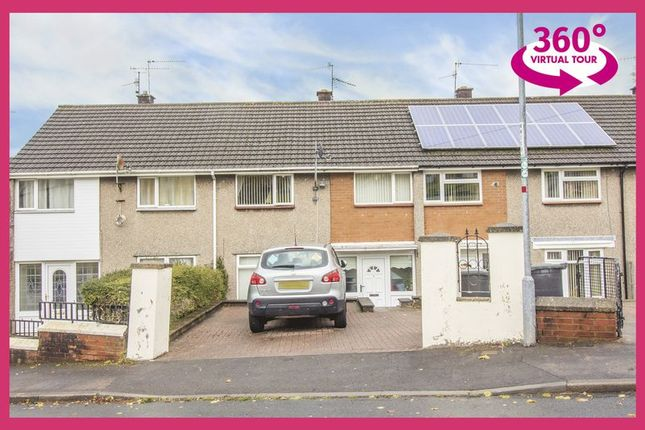 Thumbnail Terraced house for sale in Lodden Close, Bettws, Newport