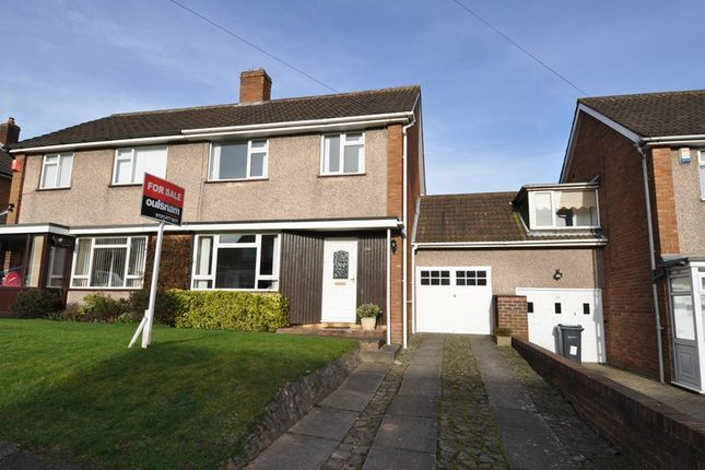 Thumbnail Semi-detached house for sale in Green Meadow Road, Bournville Village Trust, Birmingham