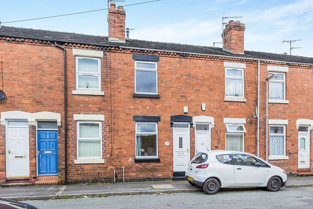 Thumbnail Terraced house to rent in Stubbs Gate, Newcastle-Under-Lyme