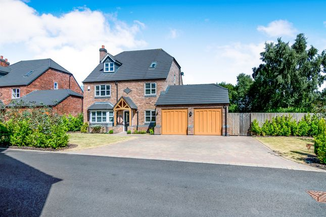 Thumbnail Detached house for sale in New Hayes Park, New Hayes Road, Cannock