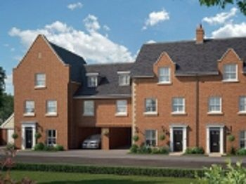 Thumbnail Town house for sale in The Magnus At St James Park, Off Cam Drive, Ely