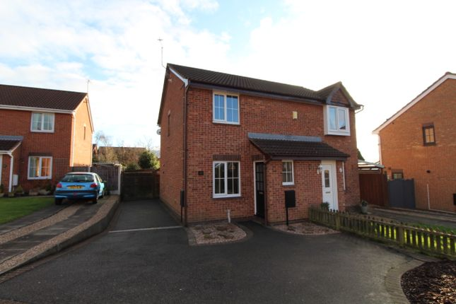 Thumbnail Semi-detached house to rent in Barclay Court, Shipley View, Ilkeston