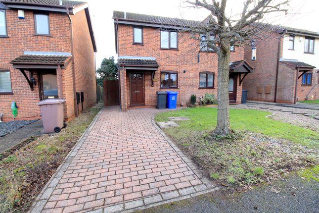 Thumbnail Semi-detached house for sale in Gatcombe Grove, Sandiacre, Nottingham