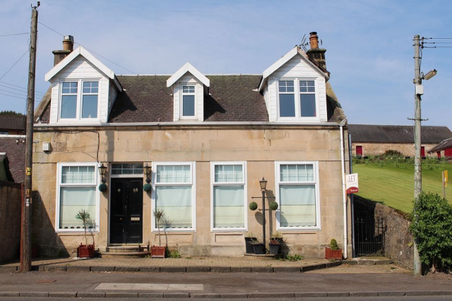 Thumbnail Detached house to rent in Lanark Road, Crossford, Lanarkshire ML8,