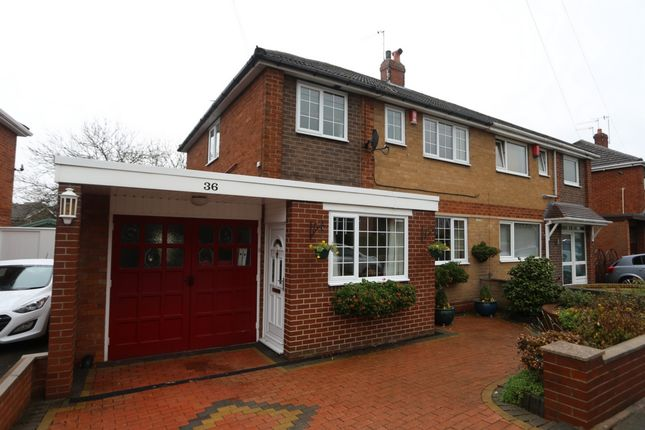 Thumbnail Semi-detached house for sale in Longbrook Avenue, Blurton