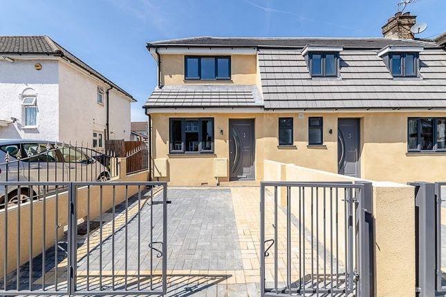Thumbnail 2 bed end terrace house for sale in Bute Road, Croydon, London