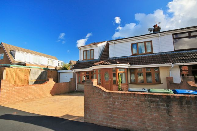 Thumbnail Semi-detached house for sale in Reepham Close, Winstanley, Wigan