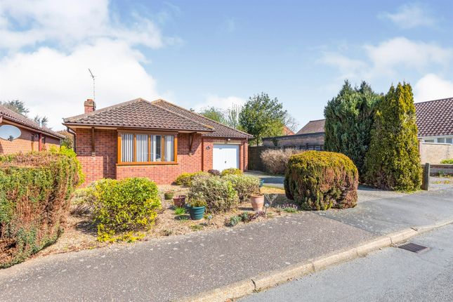 Thumbnail Detached bungalow for sale in Pereers Close, Holt