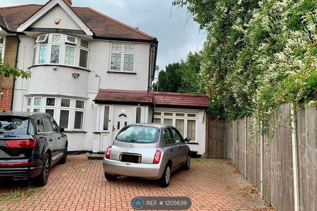 Thumbnail Semi-detached house to rent in Berwyn Avenue, Hounslow